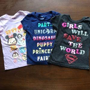 Bundle of Little Girls Shirts